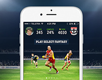 Select - Footy Cards App