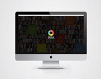 Website UI & Magazine Ad: BRICS Media Network