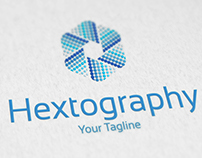 Hextography - Photo, Image Logo Template [For Sale]