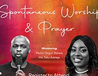 Spontaneous Worship and Prayer Event Designs