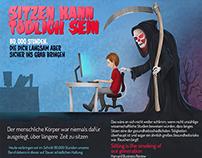 Sitzen kann Dich Töten Infografik