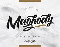 Free Maghody Script Font