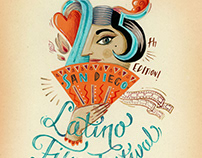Poster for 25th San Diego Latino Film Festival