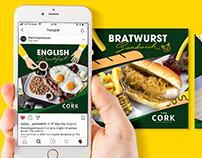 The Cork Gastropub Social Media
