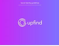 Upfind logo branding