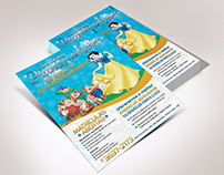 Panfleto | Escola Infantil Branca de Neve