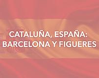 CATALUÑA, ESPAÑA: BARCELONA Y FIGUERES