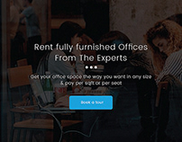 Office space provider - website