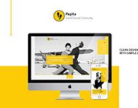 Pepita Tánciskola Redesign