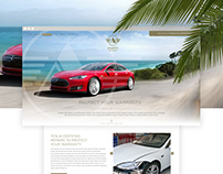 Amato's Auto Body Tesla Landing Pages