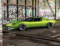 Lamborghini Miura Widebody   CGI