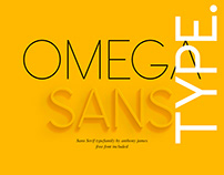 Omega Sans | Free Font