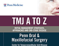 Penn Medicine TMJ Directional Posters