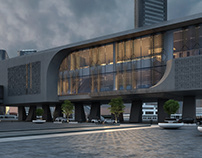 Metro rail concept 2, pharonic theme.