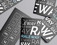 Raleway Font Specimen