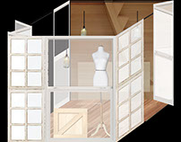 Glass cabin (kiosks)