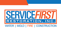 ServiceFirst Restoration Graphics Design