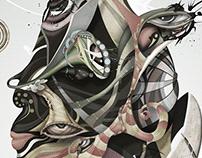 Project 8 Ayahuasca - Digital Art