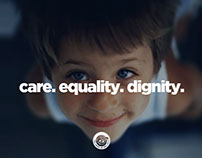 The Smile Of The Child care. equality. dignity.