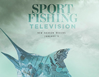 Sport Fishing Television Print Ad