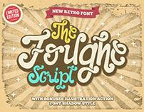 The Foughe Script Font