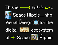 Nike's Space Hippie Digital ecosystem