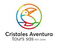 Logotipo Minimalista para Cristales Aventura Tours