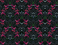 Wallpaper pattern design 26 Edouard Artus ©2015