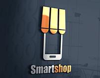 تصميم شعار المتجر الذكي