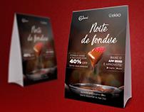 Display de Mesa | Café Journal e Ekko