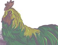 moody chicken