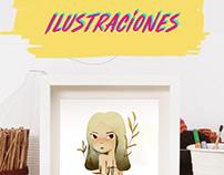 Ilustración-Personajes
