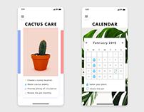 Plant Care & Calendar App