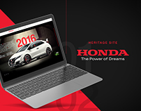 Honda - Type R Heritage Site