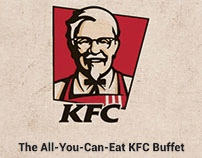 KFC Buffet Brochure - Practice Work.