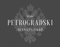 Petrogradski | Free font
