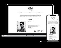 Сайт модельного агентства GM AGENCY