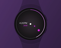 Android Wear Interaction Prototype