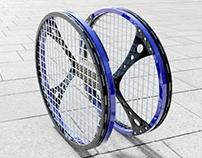 Twin racket