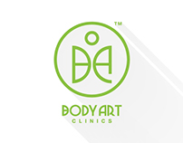 Body Art Clinics Creative Concept Logo