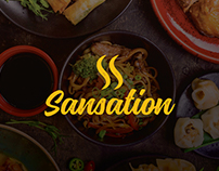 SANSATION Restaurant | logo