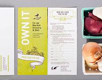 Co-op Market Grocery & Deli Trifold Brochure