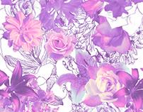 Pattern Design - Flores