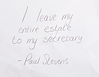 Write it Right- Secretary