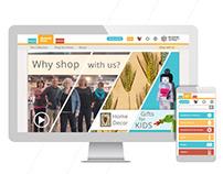 Online Museum Shop Design