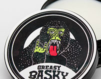 Greasy Basky Water-Based Pomade