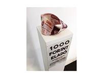 Forint bidding 1000HUF sale