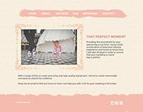 Wedding Website Design and Develop
