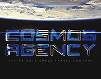 Cosmos Agency — Private Space Travel Company. Brand+Web