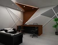 Office Interiors Design Render